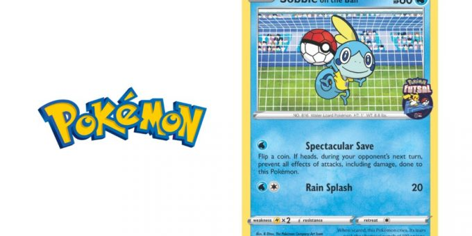 GAME REVEALS LAUNCH OF FOURTH AND FINAL FUTSAL CARD IN POKÉMON GLOBAL EXCLUSIVE